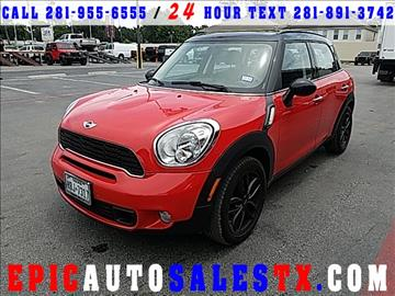 2012 MINI Cooper Countryman for sale in Cypress, TX