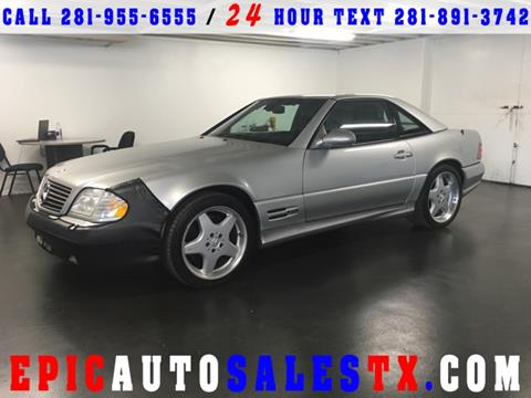 2000 Mercedes-Benz SL-Class for sale in Cypress, TX