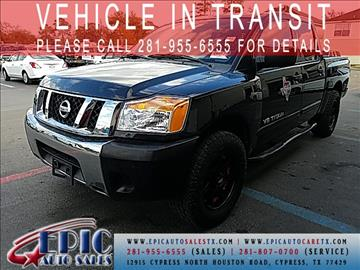 2011 Nissan Titan for sale in Cypress, TX