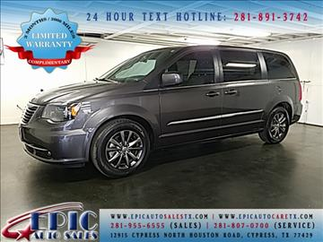 2015 Chrysler Town and Country for sale in Cypress, TX