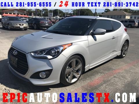2015 Hyundai Veloster Turbo for sale in Cypress, TX
