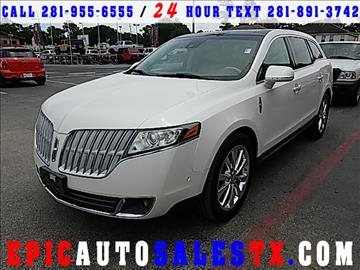 2012 Lincoln MKT for sale in Cypress, TX