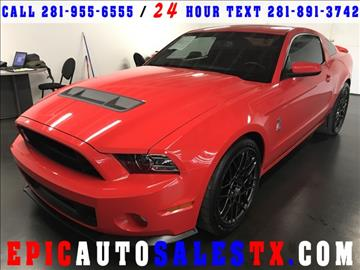 2013 Ford Shelby GT500 for sale in Cypress, TX