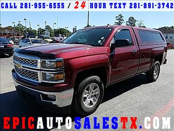2014 Chevrolet Silverado 1500 for sale in Cypress, TX