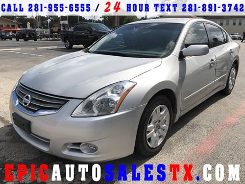 2011 Nissan Altima for sale in Cypress, TX
