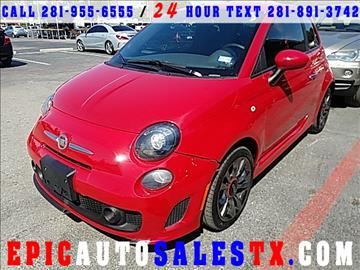2015 FIAT 500 for sale in Cypress, TX