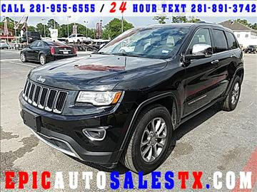 2014 Jeep Grand Cherokee for sale in Cypress, TX