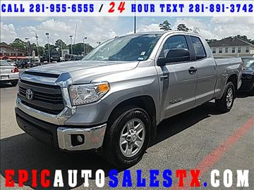 2014 Toyota Tundra for sale in Cypress, TX