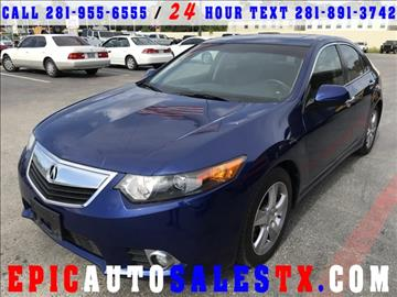 2013 Acura TSX for sale in Cypress, TX
