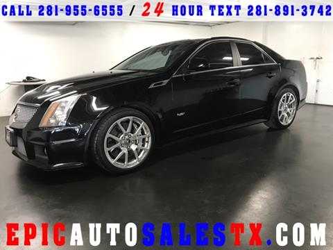 2011 Cadillac CTS-V for sale in Cypress, TX
