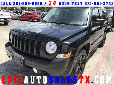 2015 Jeep Patriot for sale in Cypress, TX