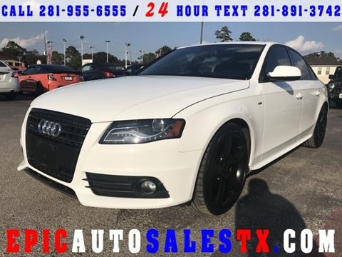 2012 Audi A4 for sale in Cypress, TX