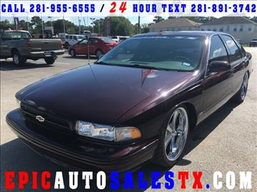 1995 Chevrolet Impala for sale in Cypress, TX