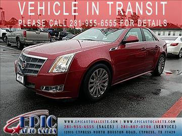2011 Cadillac CTS for sale in Cypress, TX