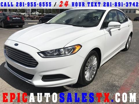 2014 Ford Fusion Hybrid for sale in Cypress, TX