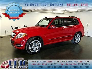 2014 Mercedes-Benz GLK for sale in Cypress, TX