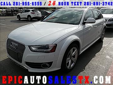 2014 Audi Allroad for sale in Cypress, TX