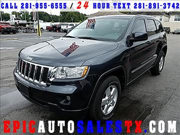 2012 Jeep Grand Cherokee for sale in Cypress, TX