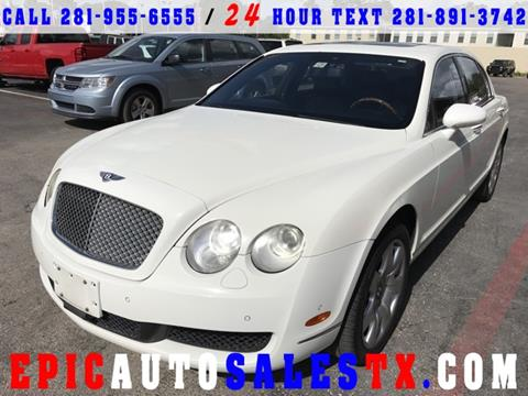 2006 Bentley Continental Flying Spur for sale in Cypress, TX