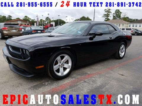 2013 Dodge Challenger for sale in Cypress, TX