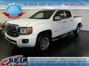 2015 gmc canyon for sale for Luke fruia motors brownsville texas
