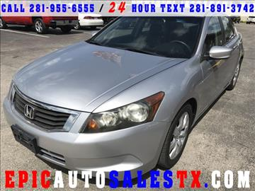 2008 Honda Accord for sale in Cypress, TX