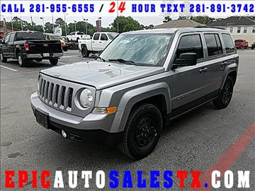 2014 Jeep Patriot for sale in Cypress, TX