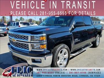 2014 Chevrolet Silverado 1500 for sale in Cypress, TX