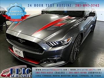 2015 Ford Mustang for sale in Cypress, TX