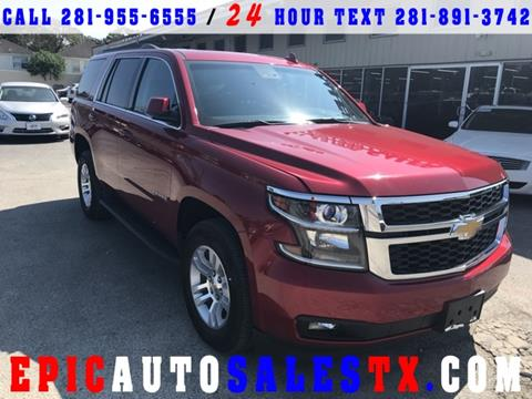 2015 Chevrolet Tahoe for sale in Cypress, TX