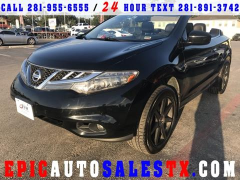 2011 Nissan Murano CrossCabriolet for sale in Cypress, TX