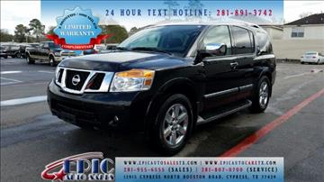 2014 Nissan Armada for sale in Cypress, TX