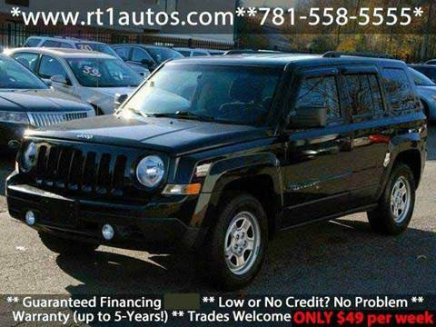 2013 Jeep Patriot for sale in Saugus, MA
