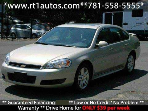 2011 Chevrolet Impala for sale in Saugus, MA
