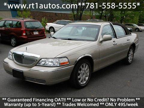 2007 Lincoln Town Car for sale in Saugus, MA