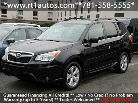 2014 Subaru Forester for sale in Saugus, MA