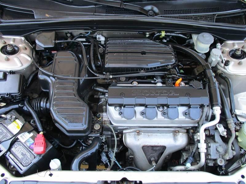 2002 Honda Civic LX 4dr Sedan w/Side Airbags - Apex NC