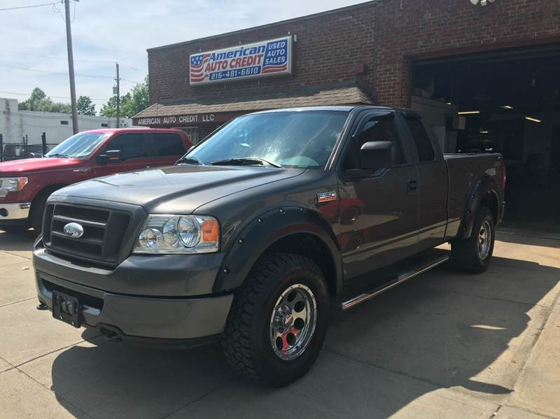 2007 ford f 150 stx 4dr supercab 4wd styleside 6 5 ft sb in cleveland oh american auto credit. Black Bedroom Furniture Sets. Home Design Ideas