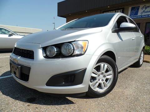 2015 Chevrolet Sonic for sale in Olive Branch, MS