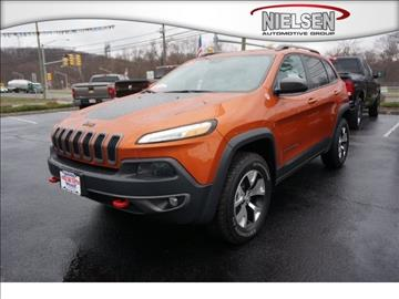 2015 Jeep Cherokee for sale in Wharton, NJ
