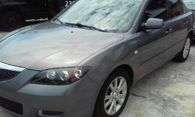 2007 MAZDA MAZDA3 I SPORT 4DR SEDAN 2L I4 4A grey active head restraints - dual front airbag d