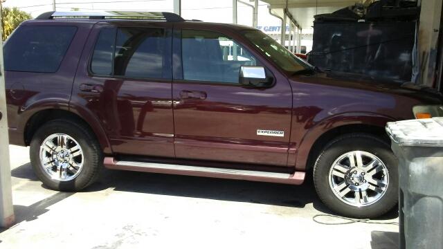 2006 FORD EXPLORER LIMITED 4DR SUV WV6 burgundy abs - 4-wheel airbag deactivation - occupant se