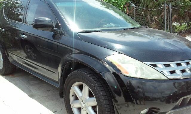 2005 NISSAN MURANO SL 4DR SUV black abs - 4-wheel anti-theft system - alarm center console - fr