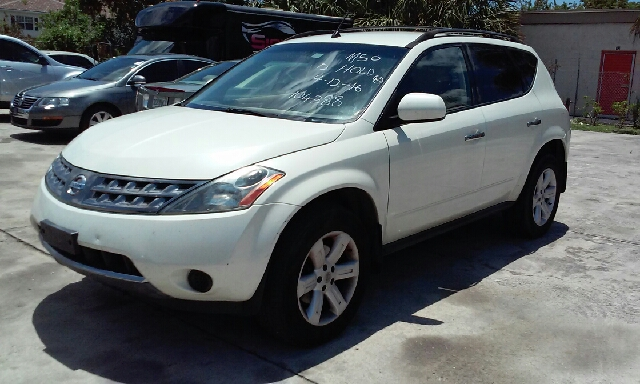 2007 NISSAN MURANO S AWD 4DR SUV white 2-stage unlocking doors 4wd type - on demand abs - 4-whe