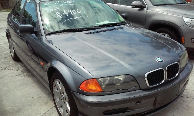 2001 BMW 3 SERIES 325I 4DR SEDAN grey abs - 4-wheel anti-theft system - alarm cassette center