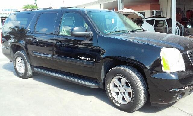 2007 GMC YUKON XL SLT 1500 4DR SUV W3SA black 2-stage unlocking doors abs - 4-wheel airbag dea