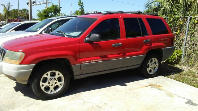 2001 JEEP GRAND CHEROKEE LAREDO 4DR 4WD SUV red abs - 4-wheel anti-theft system - alarm axle ra