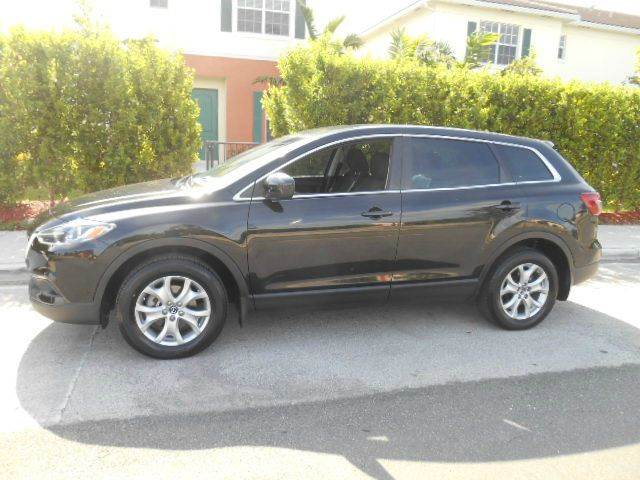 2014 MAZDA CX-9 SPORT 4DR SUV 2-stage unlocking doors abs - 4-wheel air filtration airbag deacti
