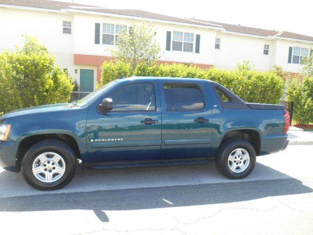 2007 CHEVROLET AVALANCHE LT 1500 4DR CREW CAB SB blue 2-stage unlocking doors abs - 4-wheel air
