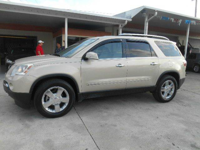 2008 GMC ACADIA SLT-1 4DR SUV gold 2-stage unlocking doors abs - 4-wheel airbag deactivation -